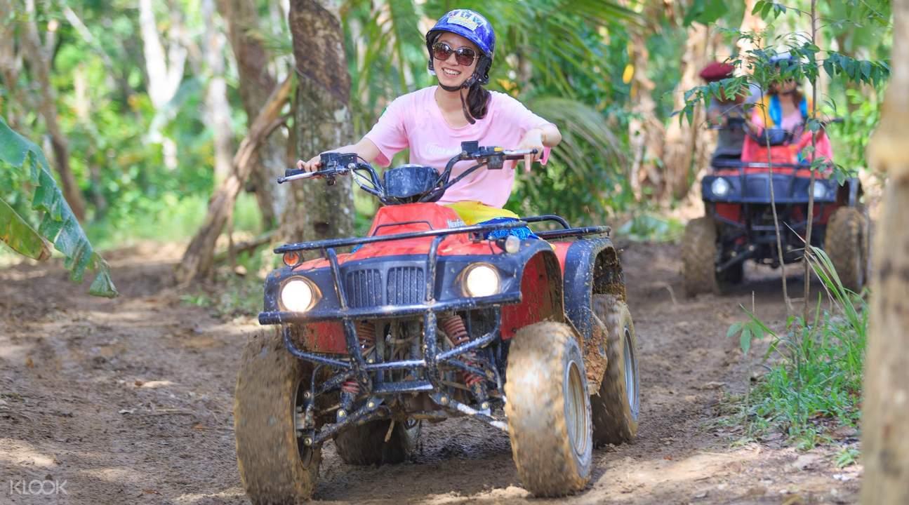 普吉岛四驱越野车丛林探险